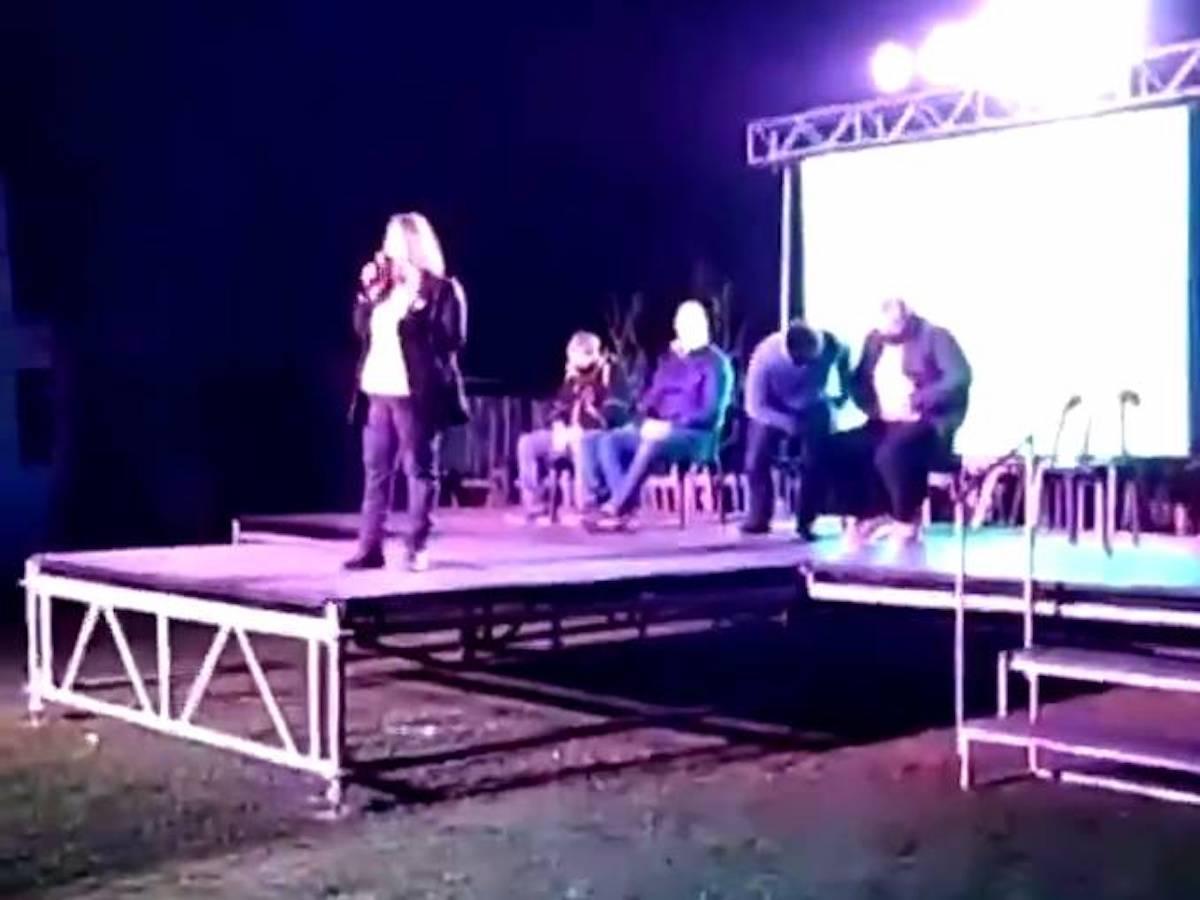 #VIDEO Balean a diputado en pleno acto de campaña