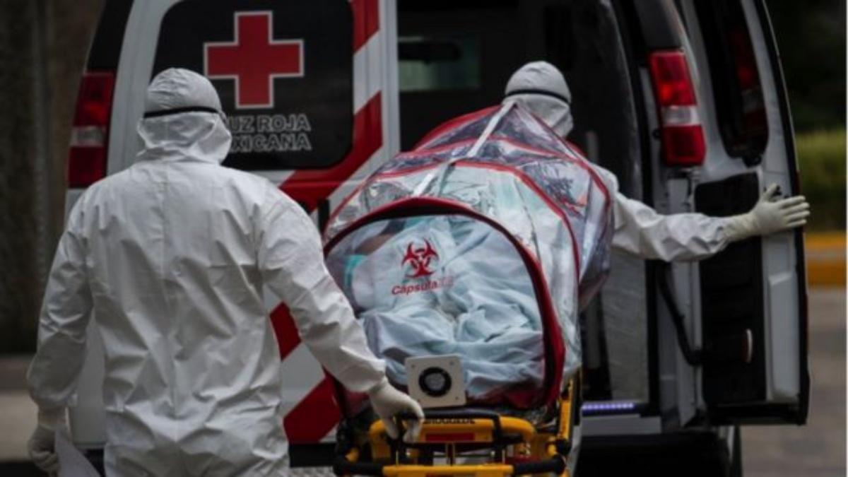 Registra México la cifra más alta  de muertes por COVID-19 durante la tercera ola