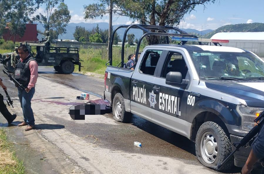 #Video así atacaron a balazos a la Presidenta municipal de Pilcaya en el EDOMEX