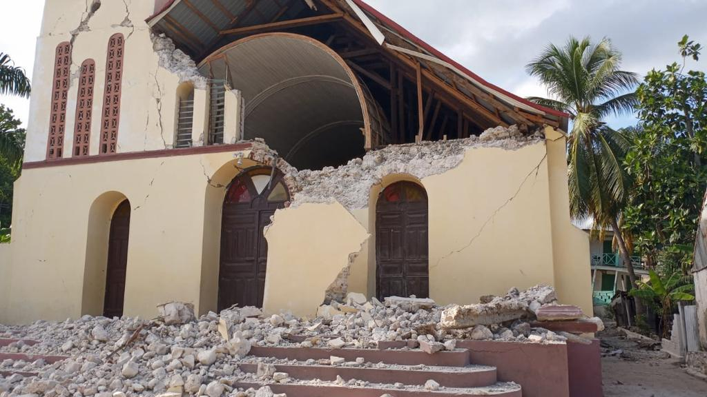 #VIDEOS Haití registra terremoto de magnitud 7.2; emiten alerta de tsunami
