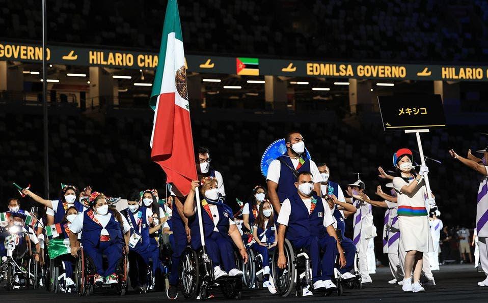 #Fotos México lució en la inauguración de los Juegos Paralímpicos Tokio 2020