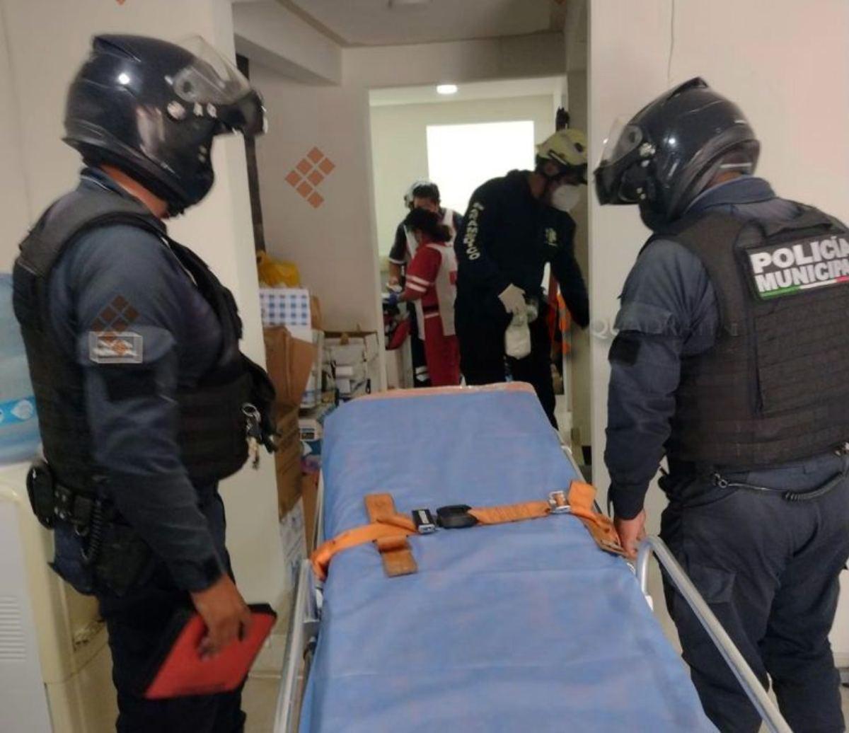 Hombre retira 700 mil pesos en Metepec y termina baleado