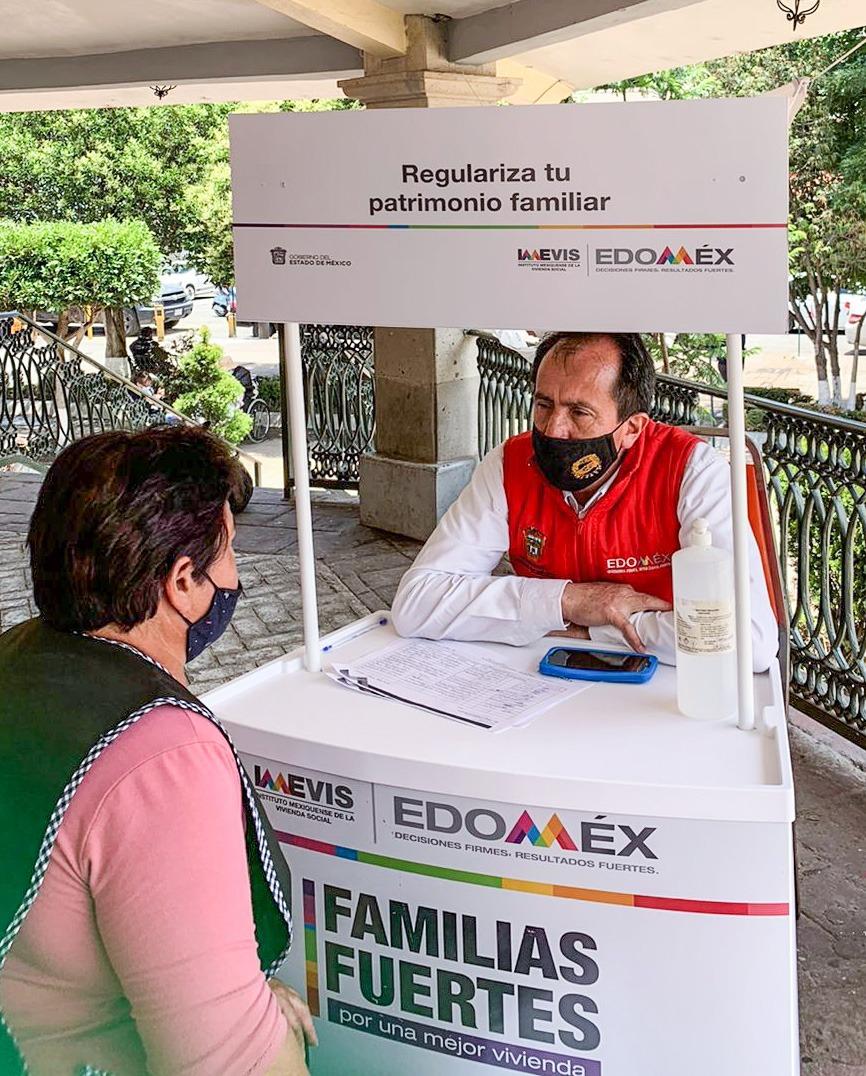 Asesora IMEVIS para más de 700 mexiquenses del Valle de Toluca para que tramiten su título de propiedad