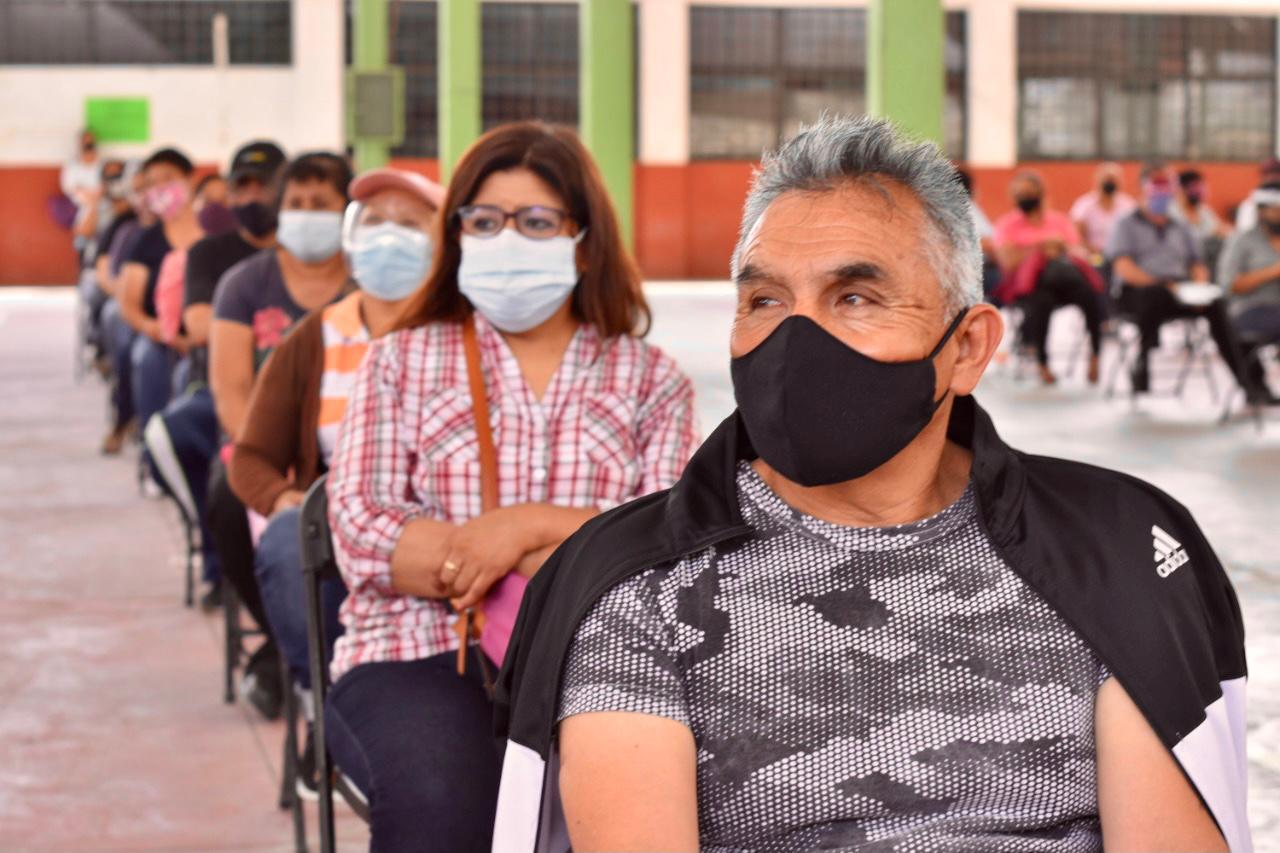 Ecatepec aplica segunda dosis Sputnik V personas a 50 a 59 años de edad a partir del 7 de agosto