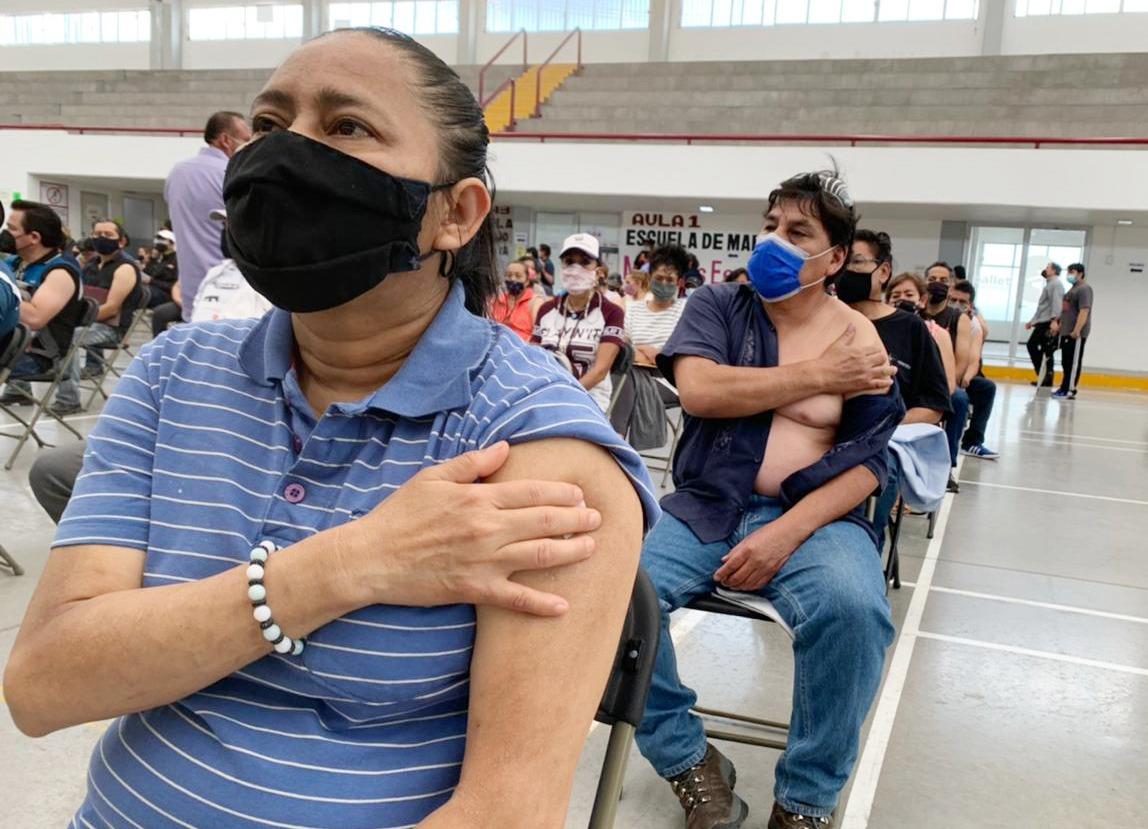 Ecatepec suma más de 121 mil adultos de 50 a 59 años y mujeres embarazadas con cuadro completo de Sputnik V