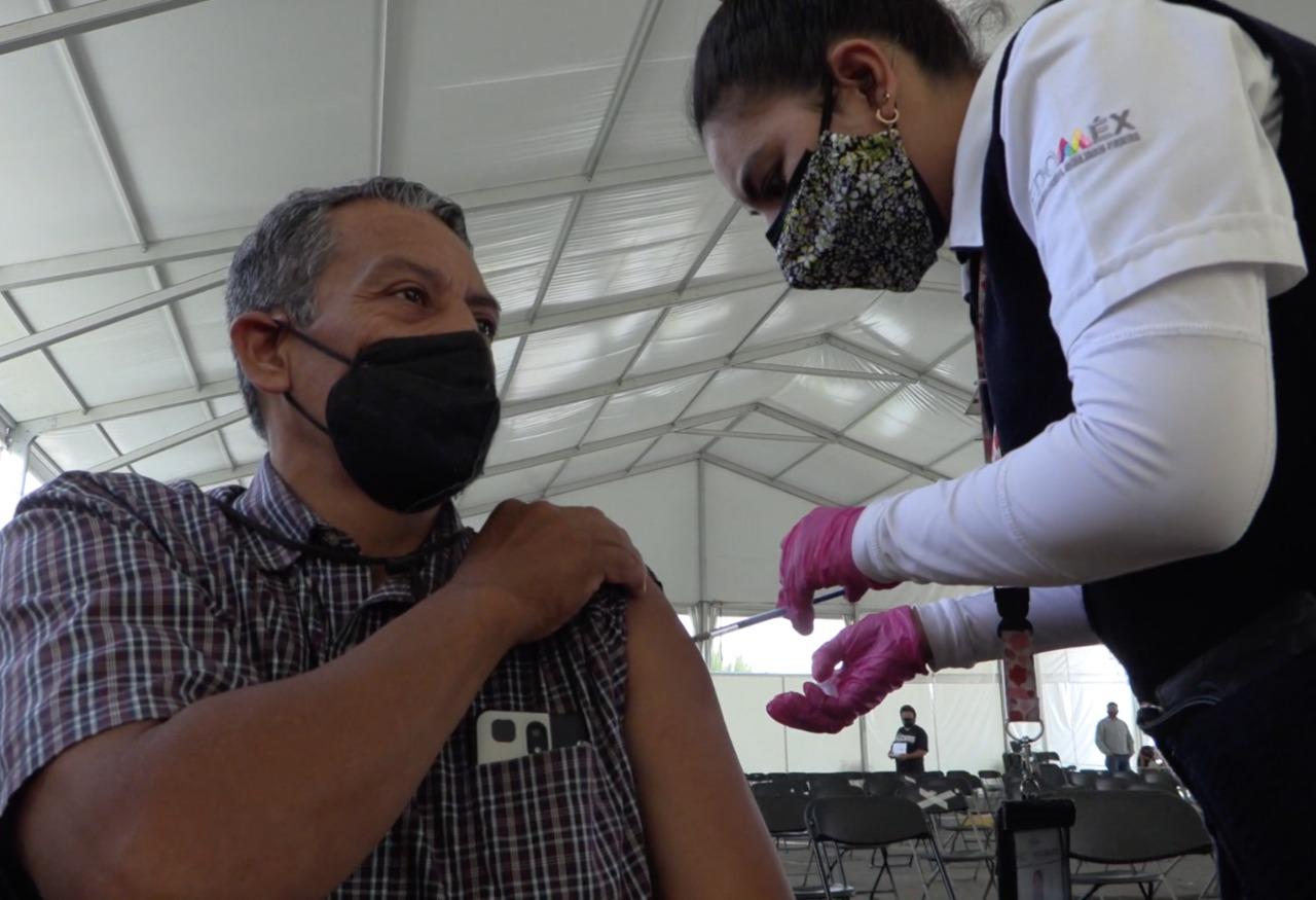 Ecatepec suma 327 mil personas con cuadro completo de vacunación contra Covid-19