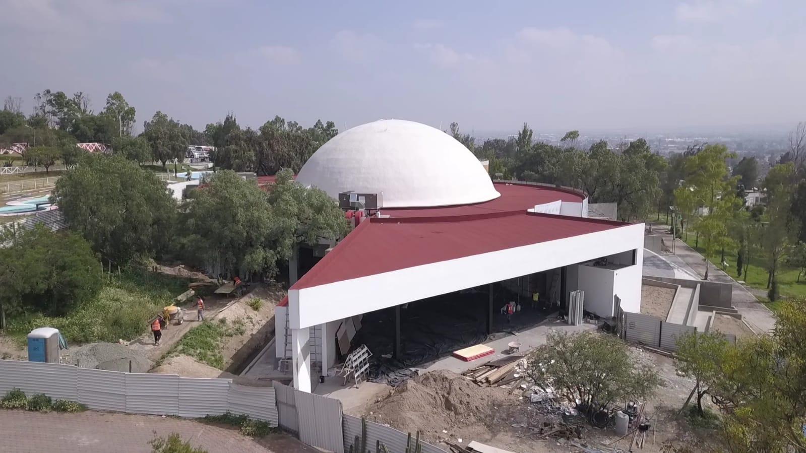 """Domo del Planetario de Ecatepec será el lienzo del mural """"Entre el cielo y el Ehécatl"""" del maestro Ariosto Otero"""