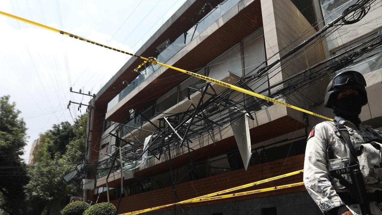 Instalación mal hecha de una secadora provocó la explosión en Coyoacán: Taboada