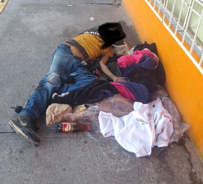 Un indigente muere en calles de Nezahualcóyotl