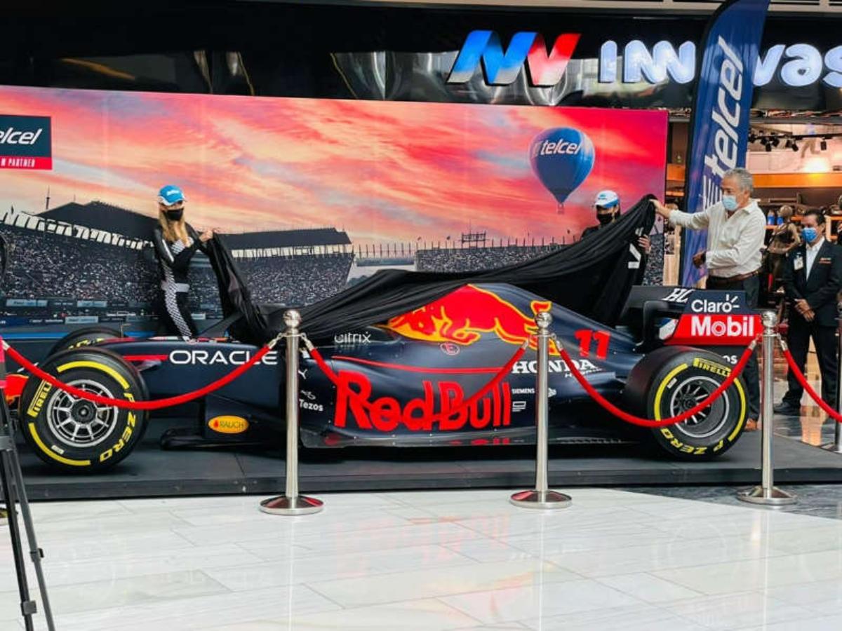 Llega por primera vez a Monterrey el Red Bull Racing