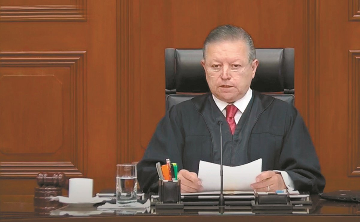 Arturo Zaldívar anuncia que su mandato como presidente de SCJN termina en diciembre de 2022