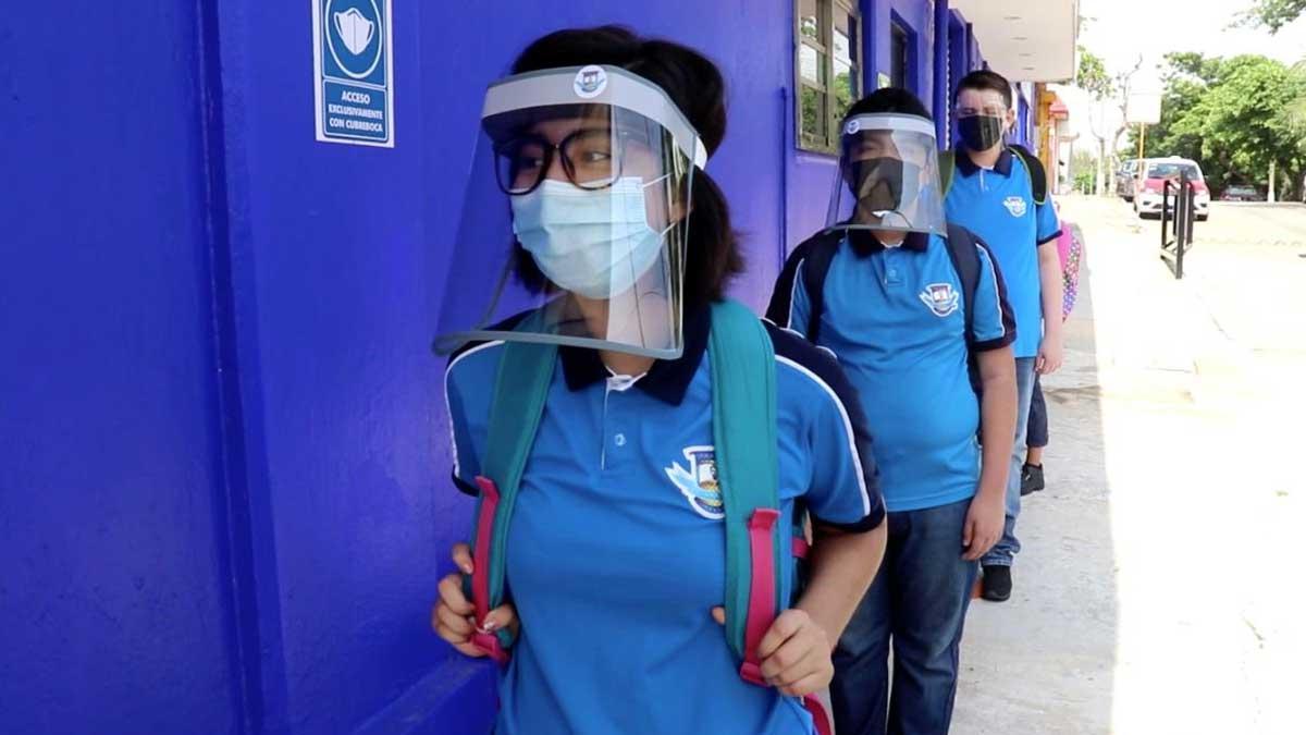 Inicia Veracruz simulacro en escuelas para el regreso a clases