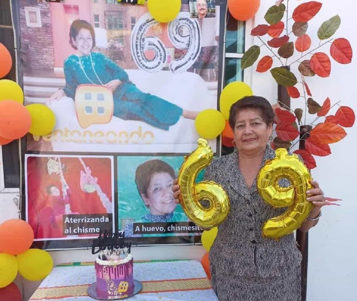 Mujer celebra su cumple con temática de Pati Chapoy y se vuelve viral