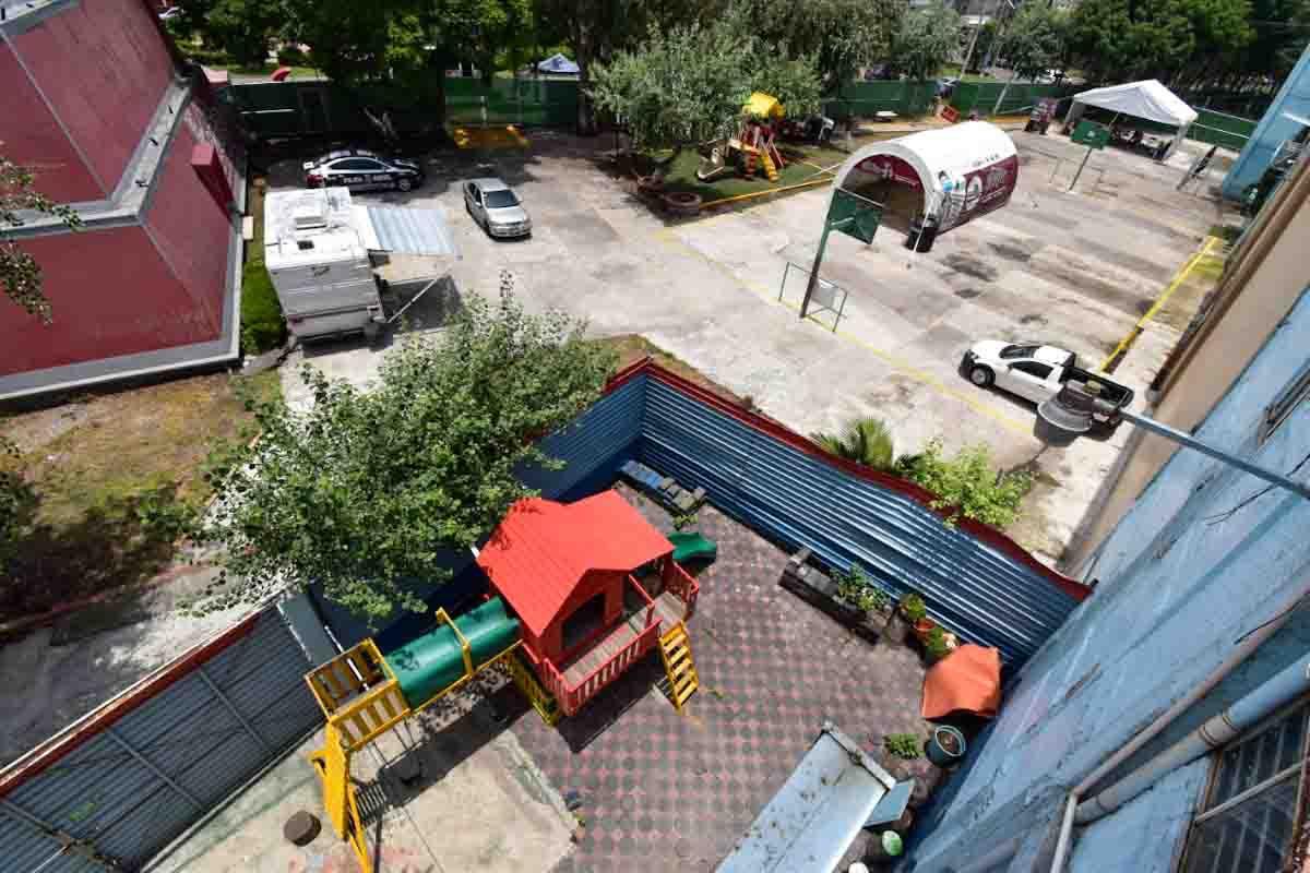 Alcalde de Ecatepec recupera parque La Pirámide
