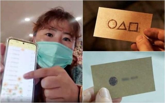La tarjeta que los concursantes recibieron de Seong Gi Hun con el número telefónico, se viralizó teniendo como consecuencia que una persona en Corea ha estado sufriendo acoso y llamadas en broma.