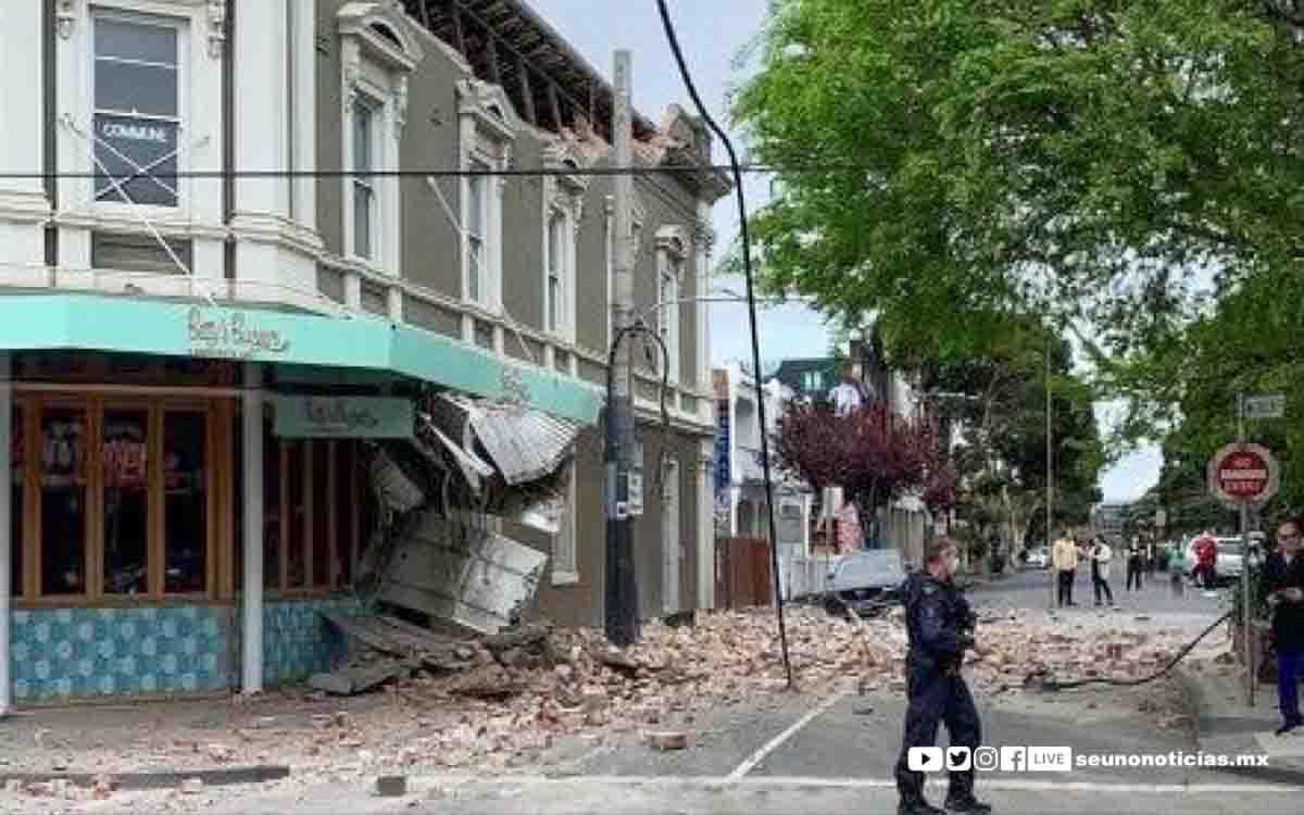 #Video Un sismo de magnitud 5.8 remece con fuerza el sur de Australia