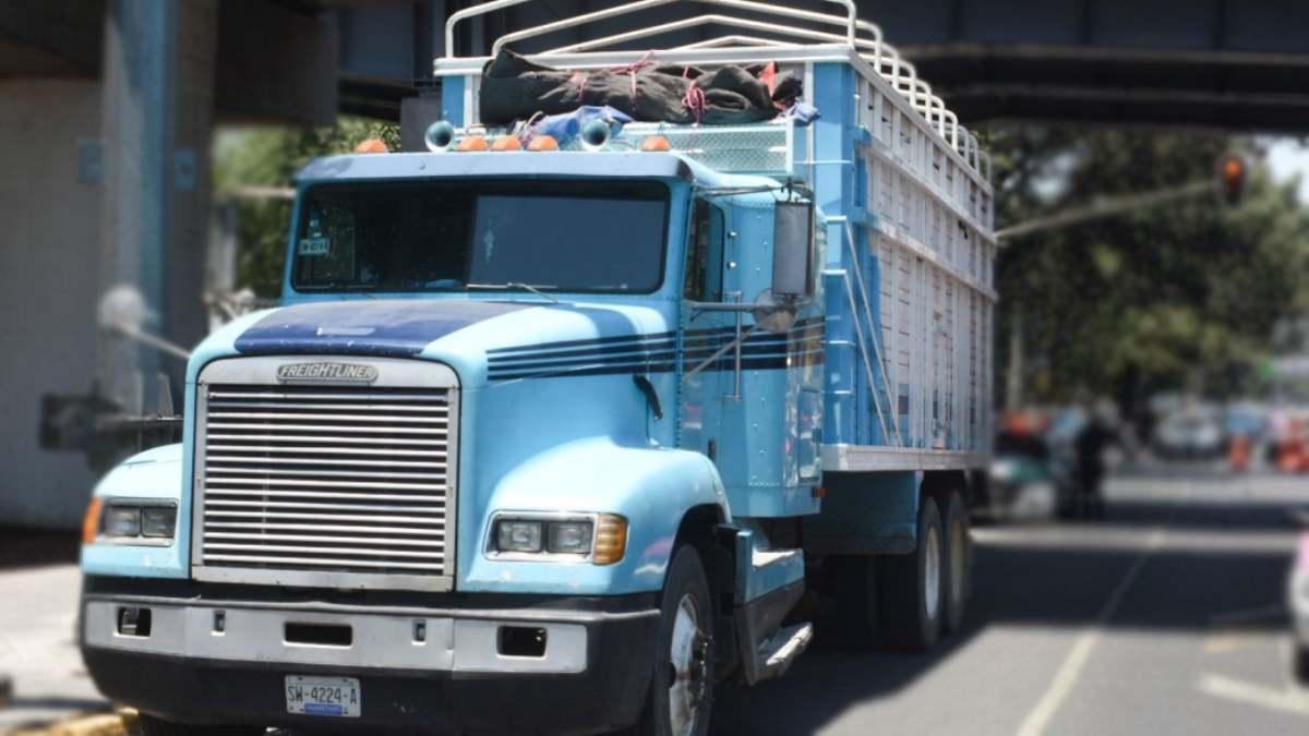 #VIDEO Conductor de camión choca a rateros y frustra un asalto