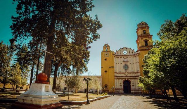 La parroquia de San Juan Bautista, Metepec