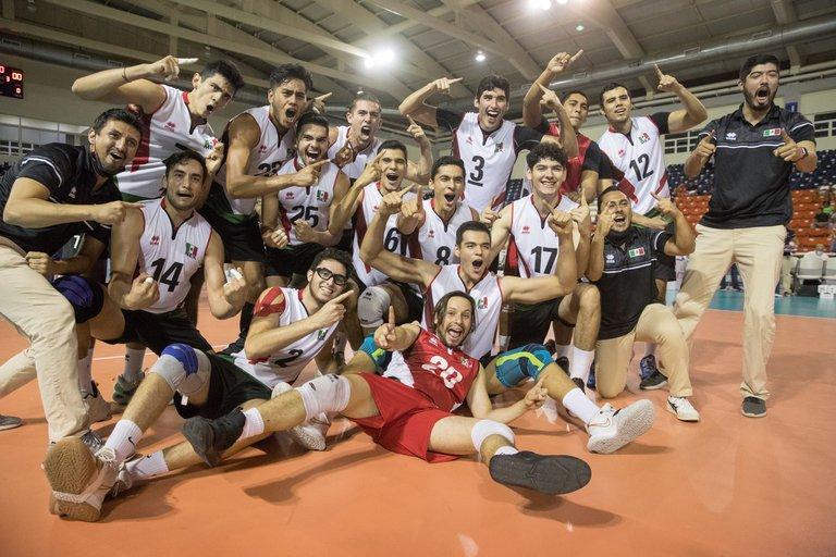 México ganó la Copa Panamericana de voleibol y se impone ante Canadá
