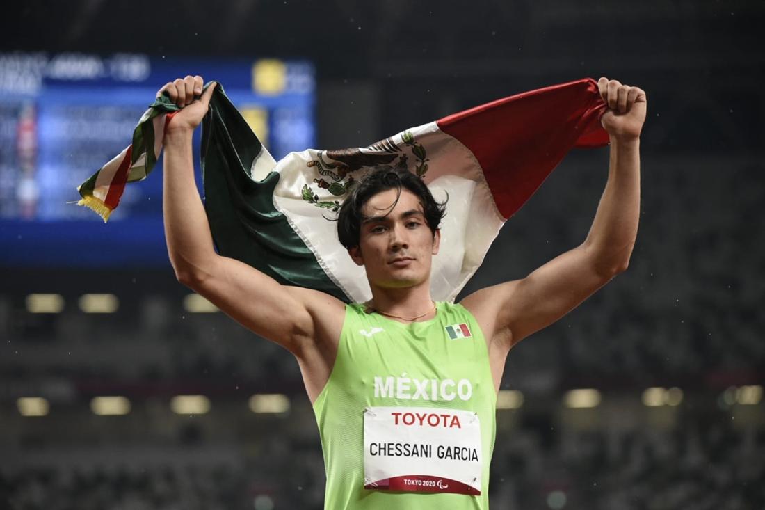 Logra José Rodolfo Chessani García debut dorado en los juegos paralímpicos de Tokio