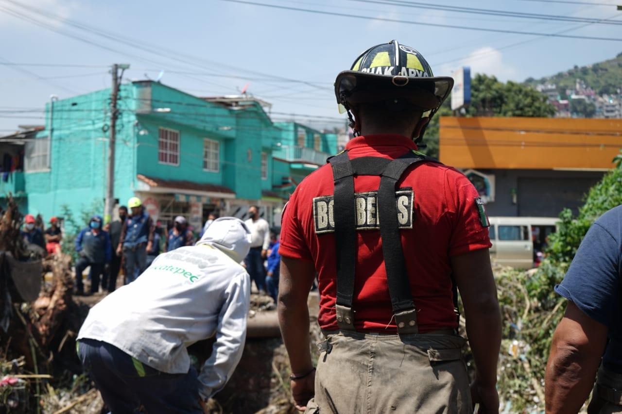 #Video Autoridades de Ecatepec despliegan brigadas de apoyo en 23 colonias afectadas por las lluvias