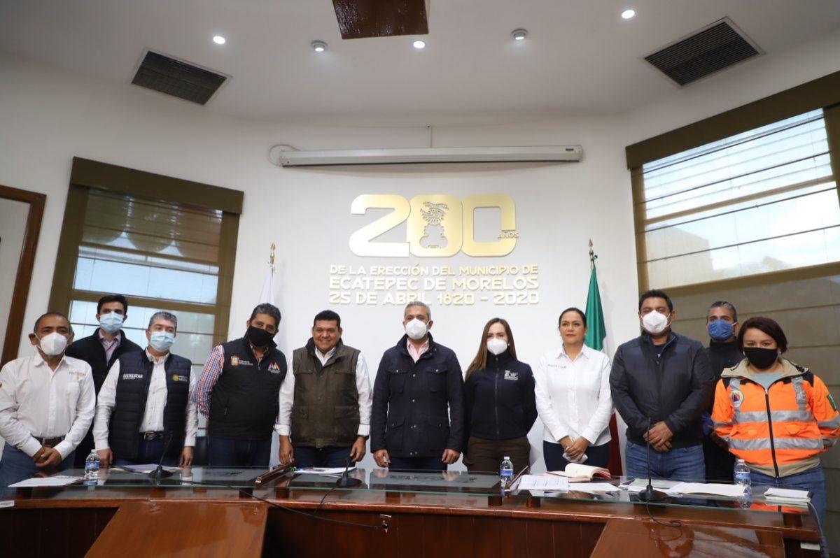 Ecatepec entregará apoyos Bienestar directos e inmediatos a damnificados por lluvias