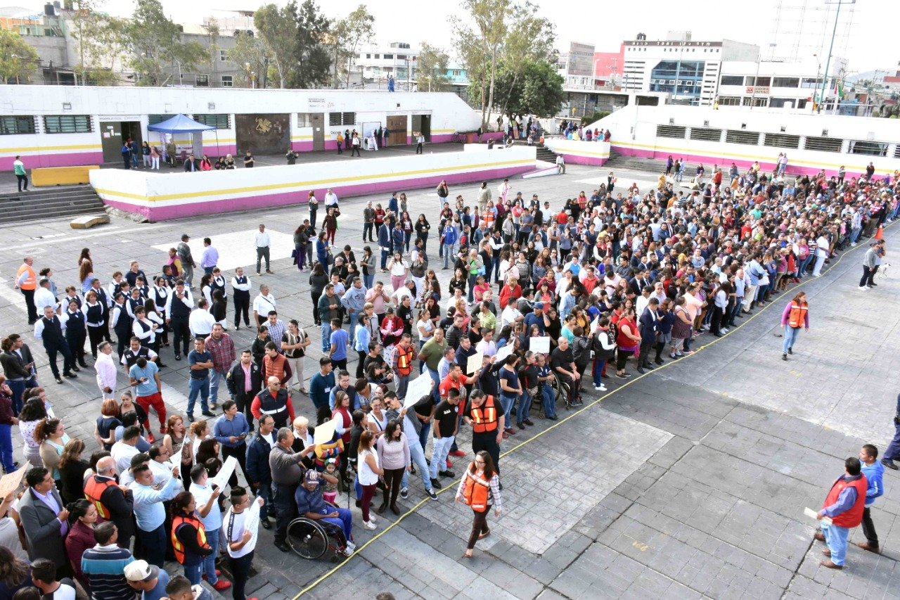 Participará Nezahualcóyotl en simulacro nacional 2021 este 19 de septiembre