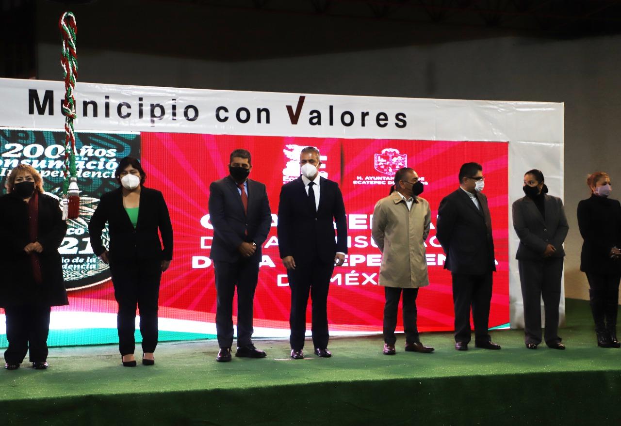 Ecatepec conmemora la Consumación de la Independencia de México