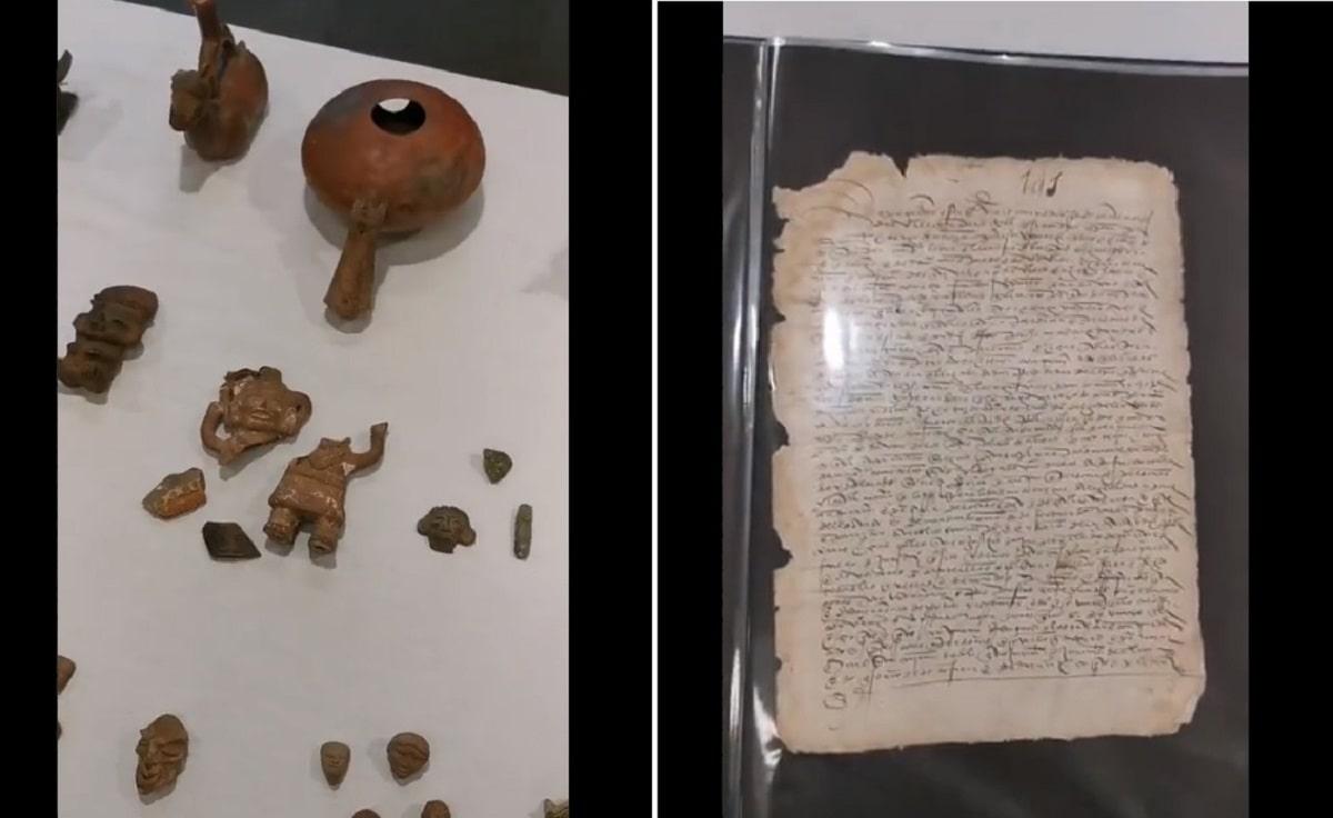"Objetos históricos del siglo XVI ""vendidos ilegalmente"" regresan a México"