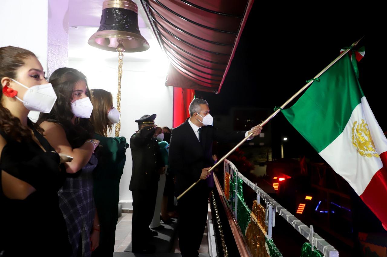 Reconocen 5 héroes en Ecatepec durante celebración virtual de la Independencia de México