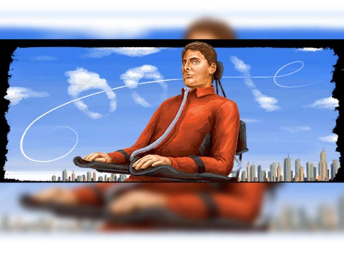 Google le dedica el Doodle a Christopher Reeve, conocido por su papel de Superman