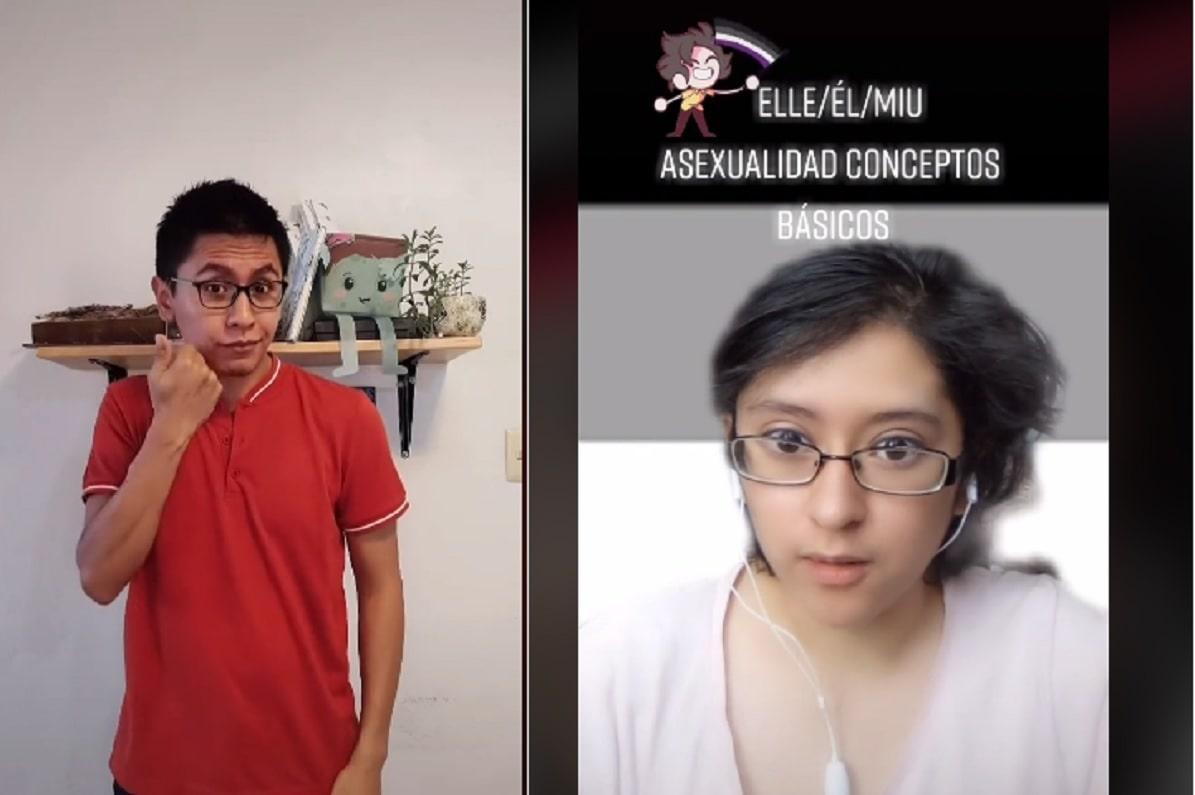 "TikToker critica a ""Compañere"" por usar mal la lengua de señas (vídeo)"