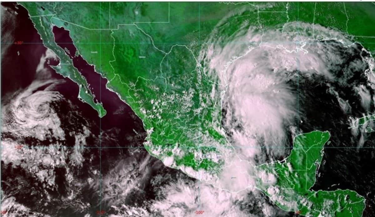 """Tormenta tropical """"Nicholas"""" puede convertirse en huracán este lunes"""