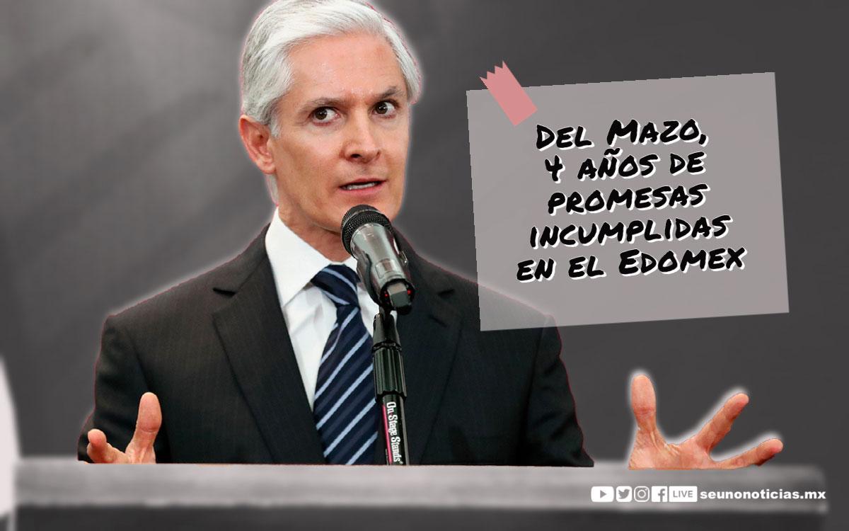 Del Mazo, 4 años de promesas incumplidas en el Edomex