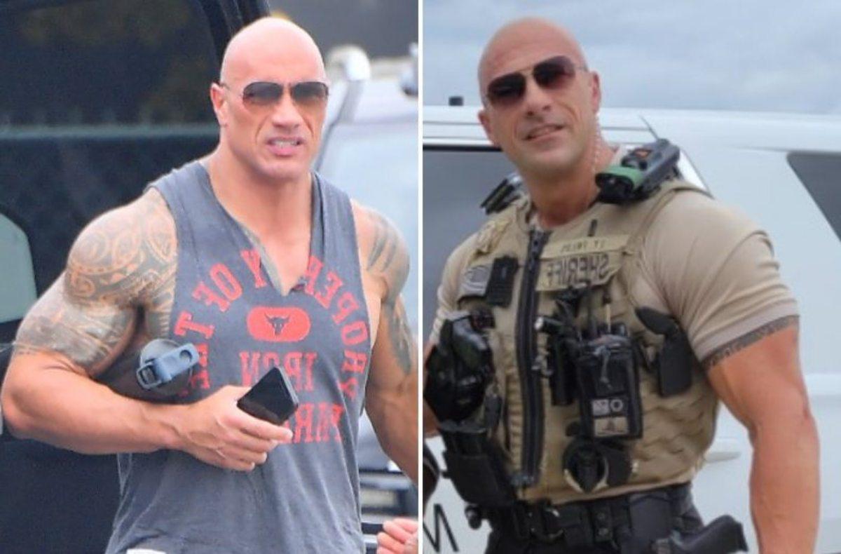 Un policía de Alabama, nueva estrella de las redes sociales por su asombroso parecido con 'La Roca