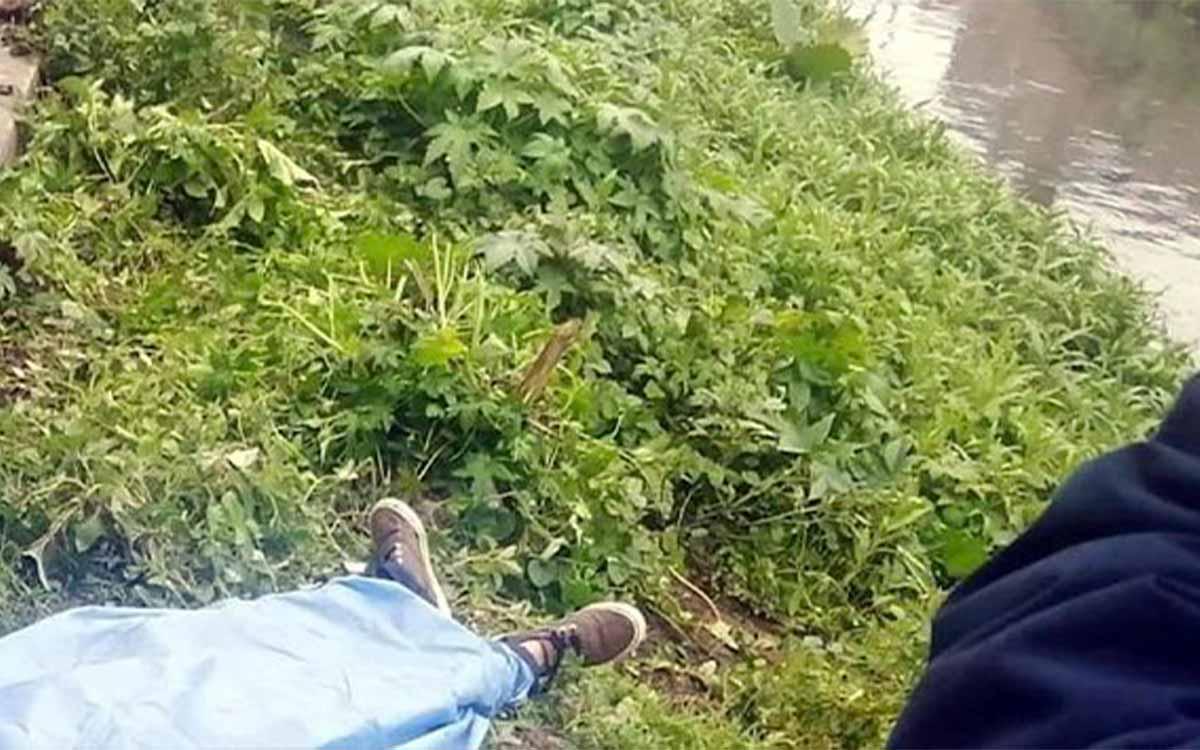 El cuerpo de un hombre fue encontrado flotando en canal de Ecatepec