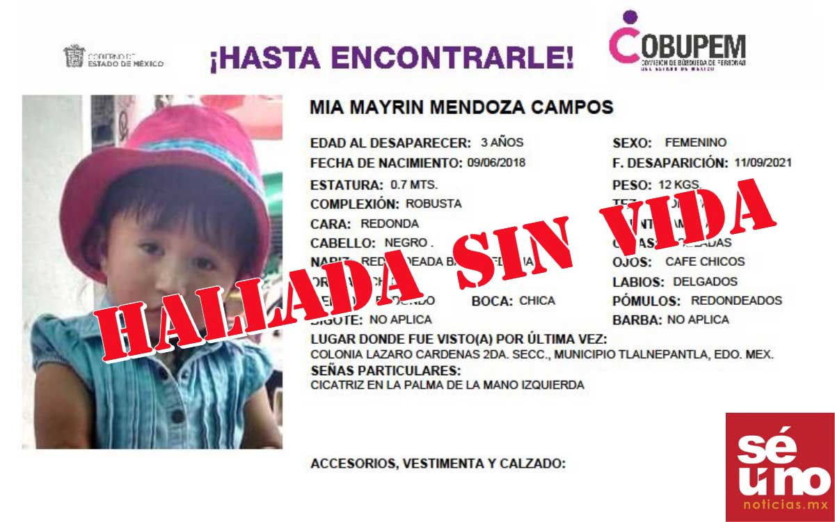 Encuentran sin vida a niña de tres años atrapada en Cerro del Chiquihuite