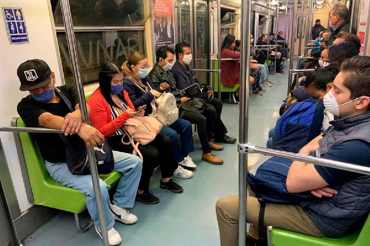 IMSS emite recomendaciones para evitar contagios por COVID-19 en el transporte público