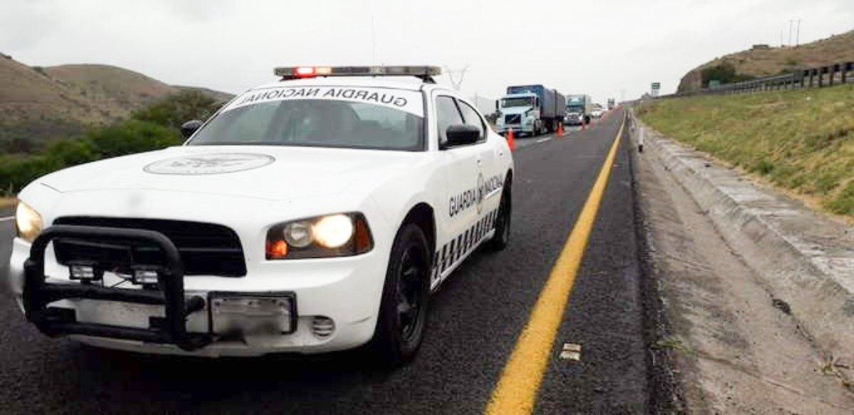 Detecta GN tráiler con seis mil cartuchos y armas largas en Zacatecas