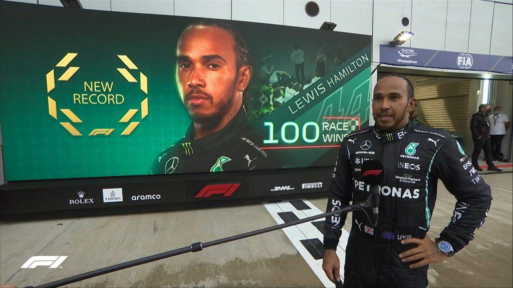 Lewis Hamilton, primer piloto en llegar a 100 triunfos en Fórmula 1