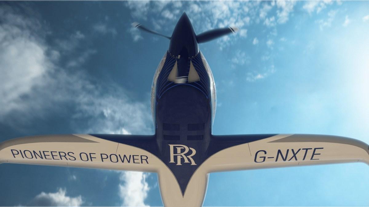 #VIDEO Con éxito termina el primer vuelo del avión de Rolls-Royce
