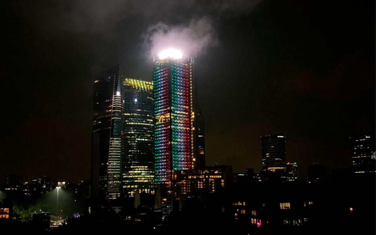 ¿Fuego en la Torre BBVA?  esto es lo que paso en la torre con el sismo