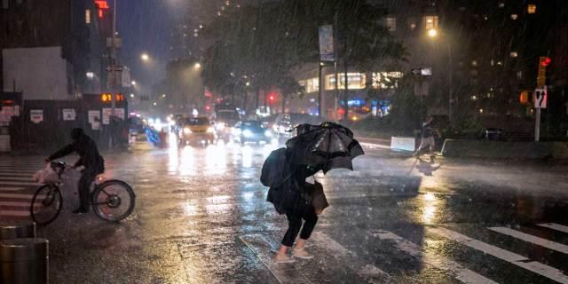 inundaciones en Nueva York