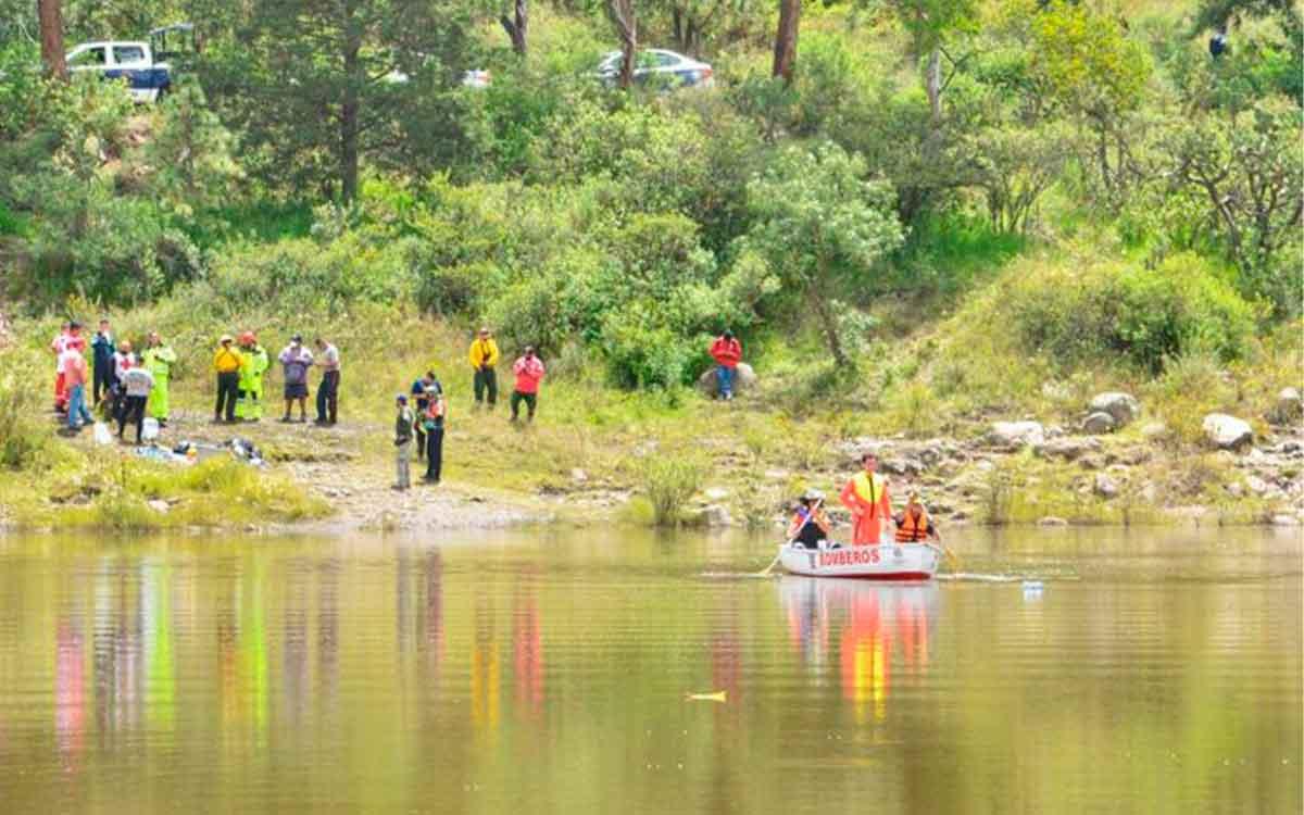 Un hombre entró a nadar a la presa de Coacalco y murió