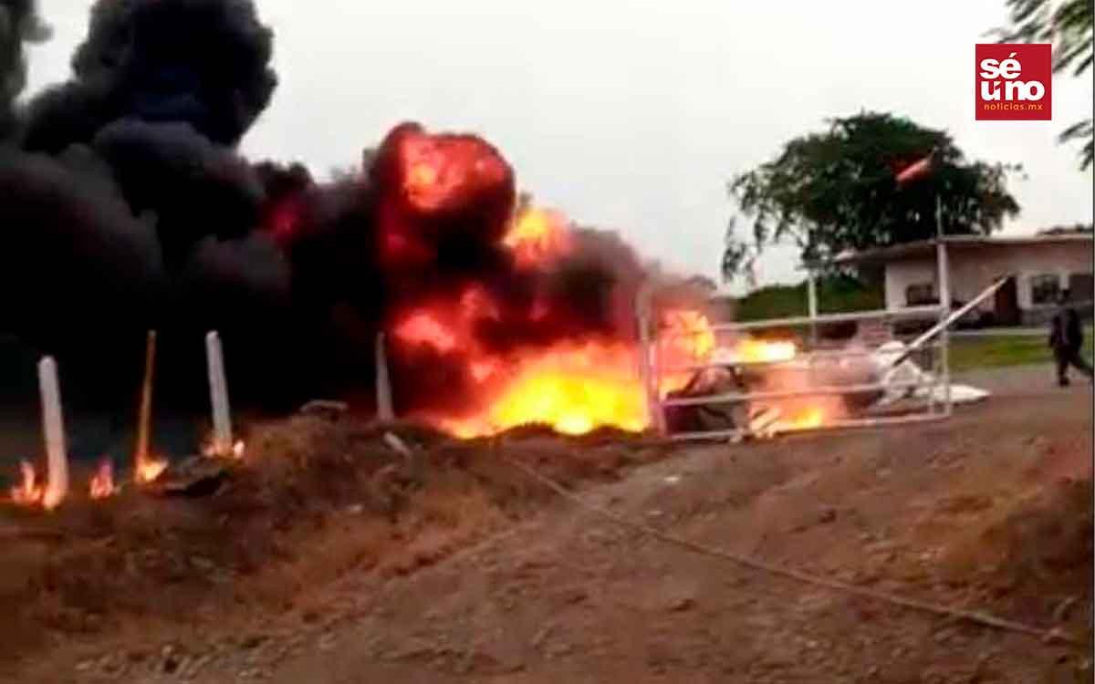 #Video Una avioneta se estrelló y el piloto falleció  en San Rafael, Veracruz