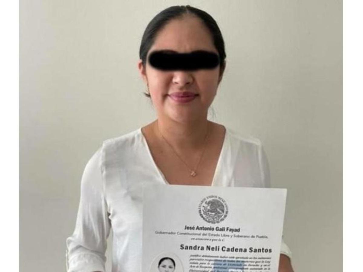 Detienen a diputada Sandra Cadena; le hallan arsenal