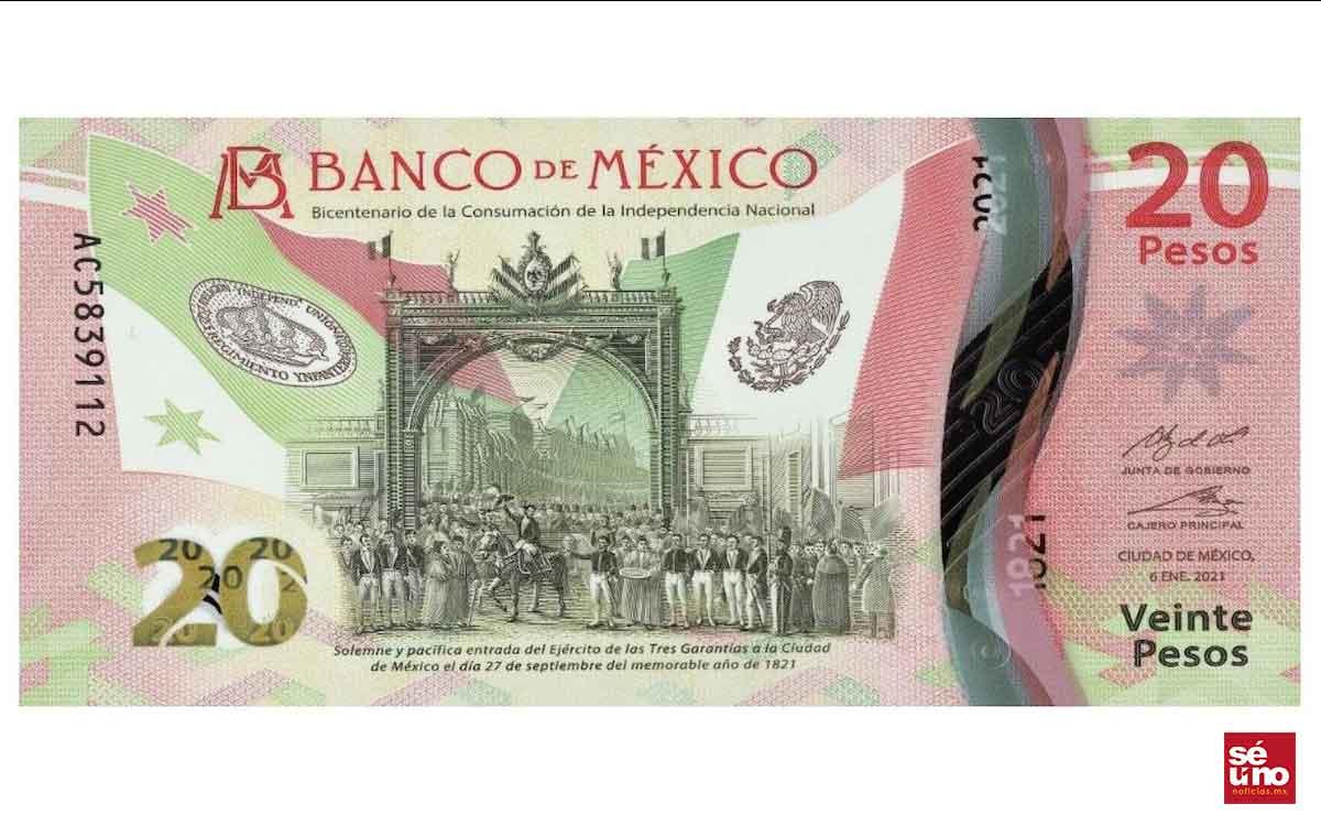 ¿Ya conoces el nuevo billete de 20 pesos?