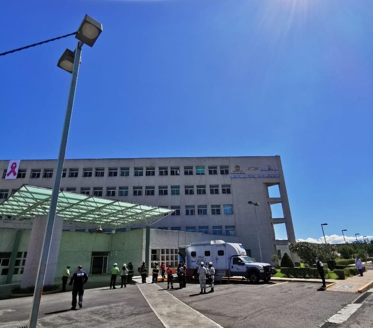 Paciente intenta saltar  de un Hospital en Toluca