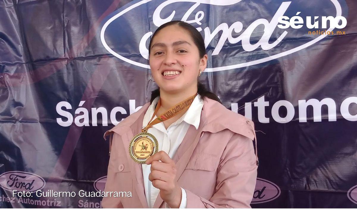 Toluqueña, Katia Castillo representará a México en Panamericanos