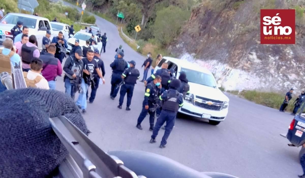 Frustran emboscada en Coatepec; se refugian en iglesia